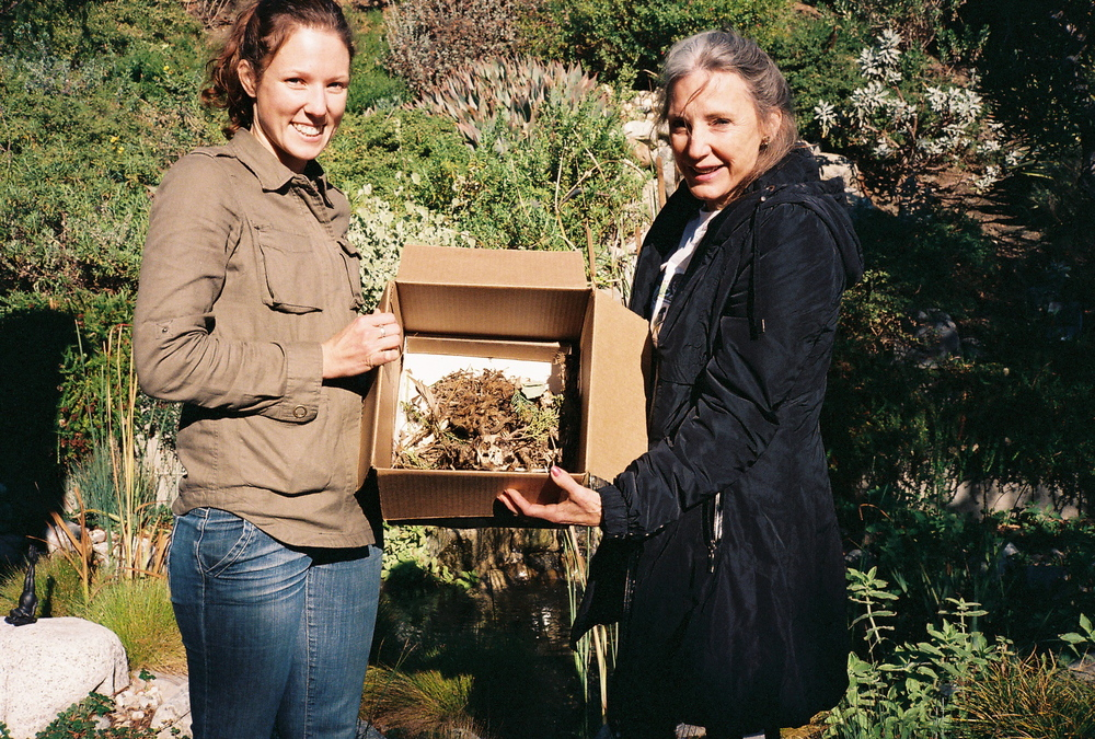 Laurel Serieys Ph.D student at UCLA & Susan Gottlieb