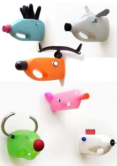 Animales con Envases Reciclados