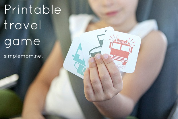Travel Game by  Simple Mom