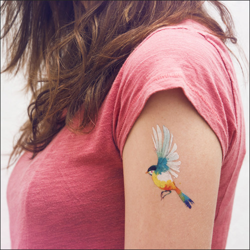 Colibrí  by Conrad Roset -  TATTOONIE