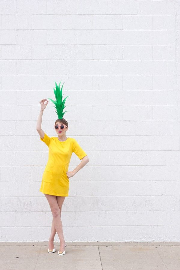DIY Fruit Costumes vía TREND HUNTER