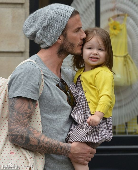 David Beckham { via }