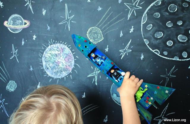 Cohete Espacial DIY { vía }