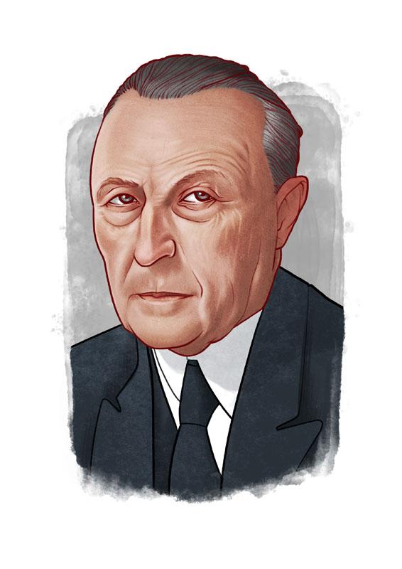 > KONRAD ADENAUER < 1949-1963