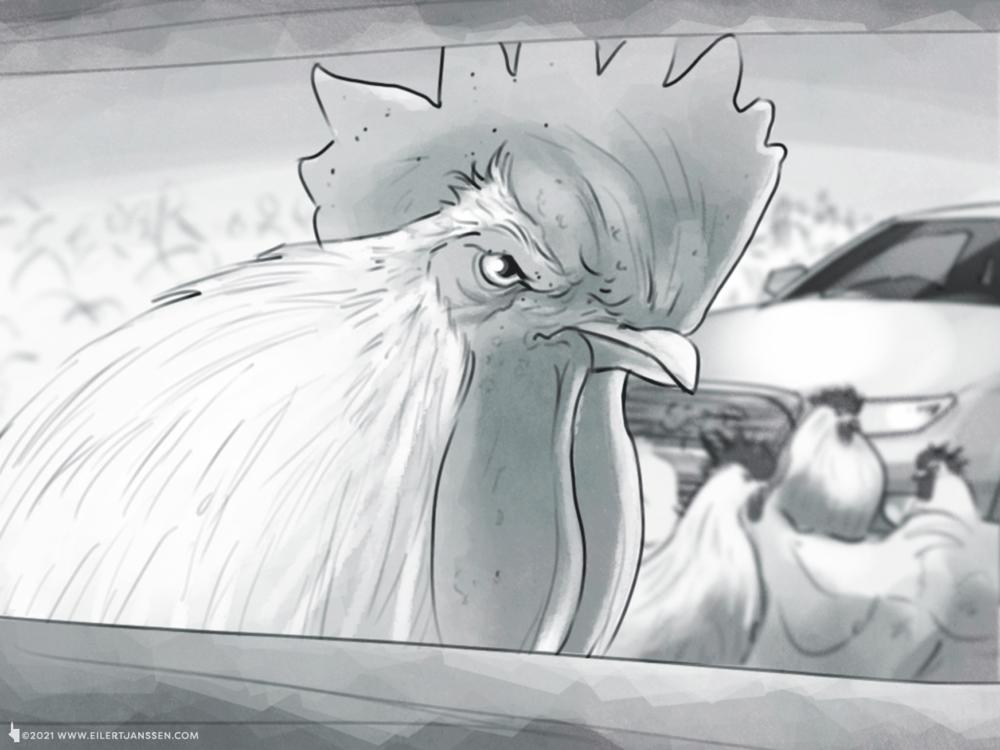 Storyboard Illustration Audi