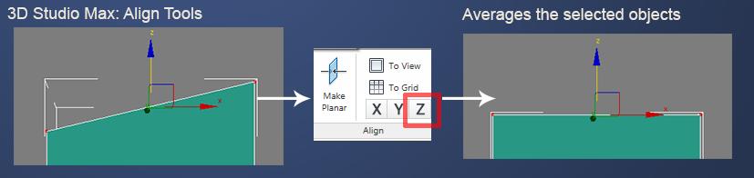 Fig 1.0 3D Studio Max Align Tool