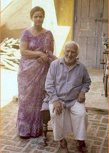 Mrs Sofat with Pdt Satyapal Ji