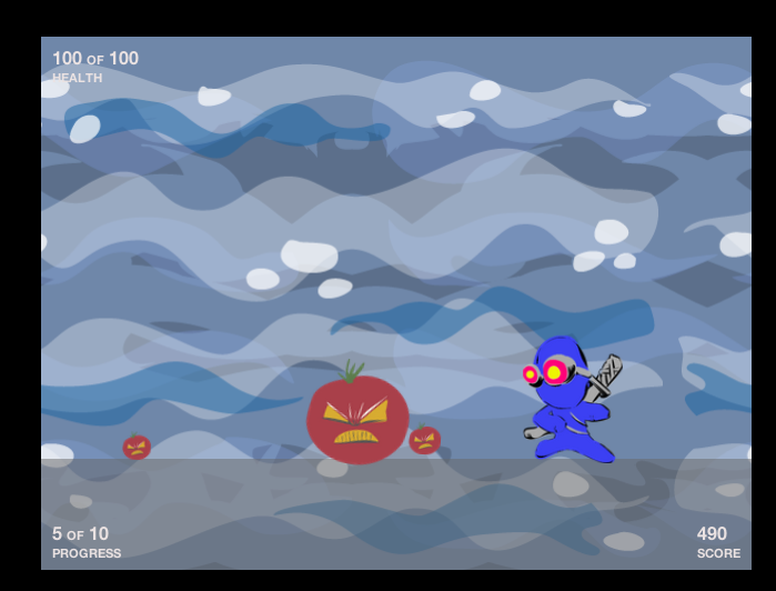 HTML5 Game Workshop Scoreboard and Student Work