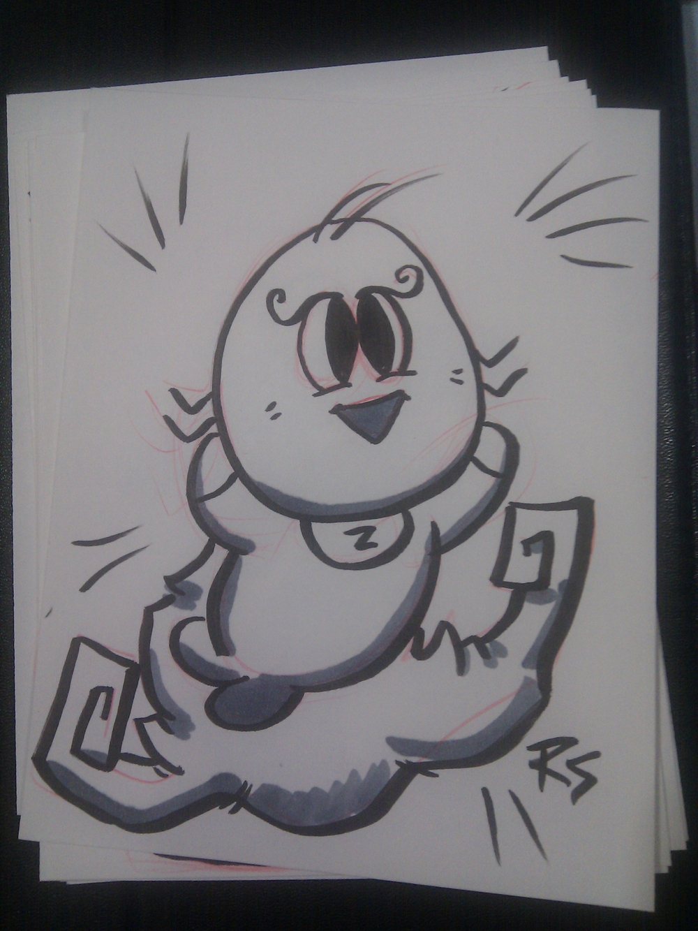 Sketchcards I made at Convergence #cvg2011 Artist Alley