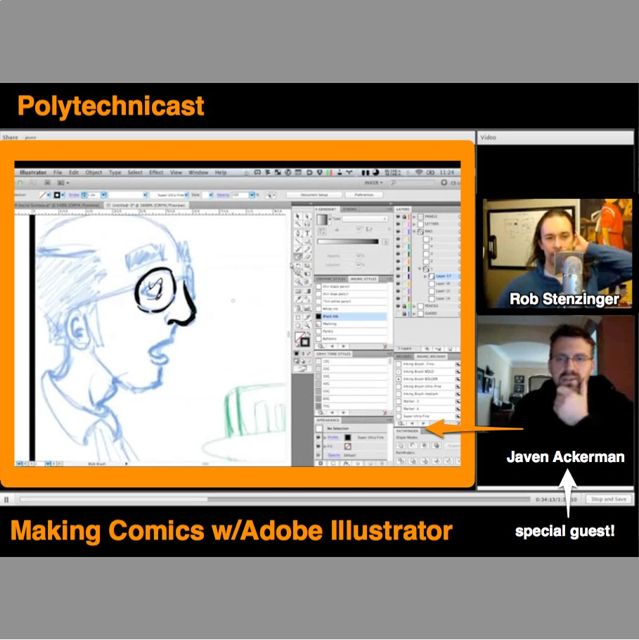 (#comics, #adobe illustrator, #art process, #making comics) 