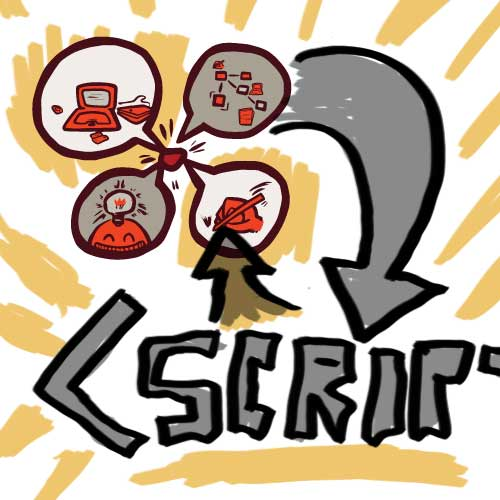 In this episode I discuss how I believe code isn't just for people with a computer-science background and that no matter your background it can be helpful to draft your code by sketching it out. Links Mentioned and Useful Resources Rob's random-sort jQuery plugin at Blog of an Interactive Storyteller Coding languages/environments mentioned (though there are many, many more worth checking out based on what tools you use and prefer) Python - a beginners guide, Lua (note: I didn't find a solid introduction to Lua useful for programmers and non-programmers in the time I had… which means perhaps I should write one. Stay tuned.), JavaScript via jQuery for Designers JavaScript - at w3 Schools ProcessingJS - a programming tool and language great at visual tasks and for visual thinkers (easiest in some ways to get started with Processing JS, though you can do even more with Processing) Psudocode