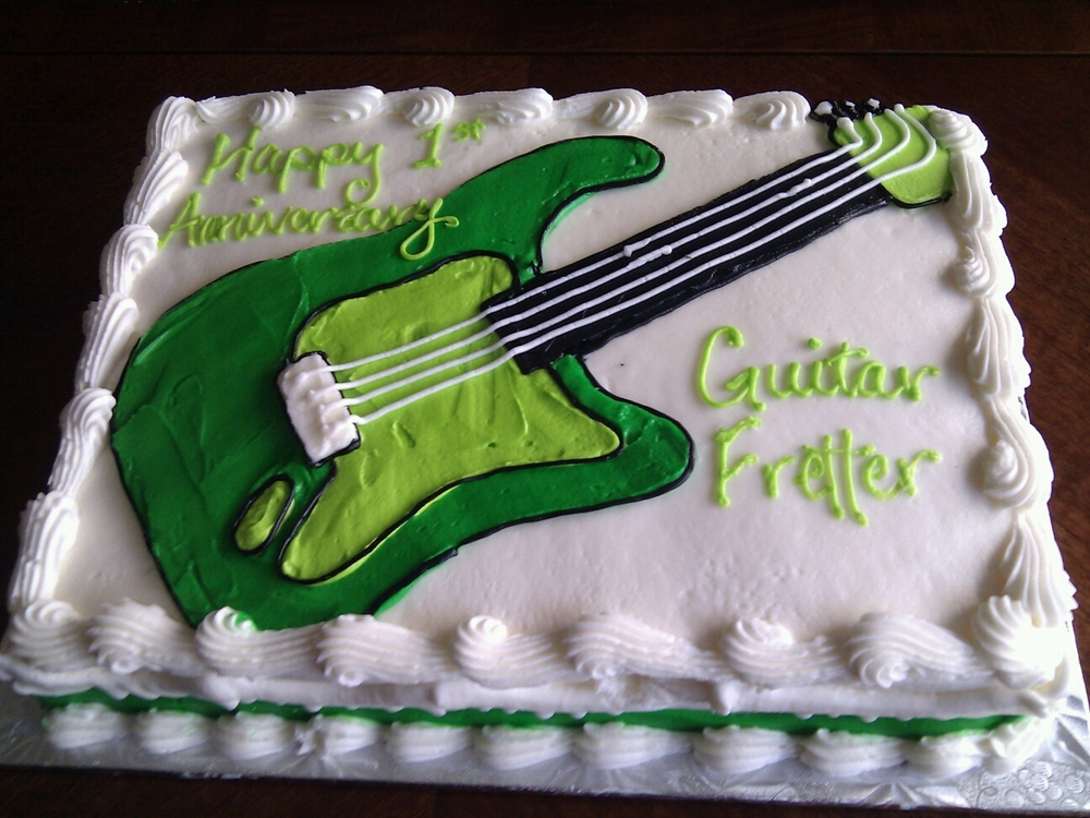 Happy 1st Birthday to Guitar Fretter!