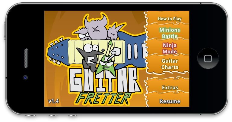 Guitar Fretter's latest release (v1.4 on iOS, v6 on Android - same game just a new numbering method) was focused on performance improvements and minor tweaks. Not a whole lot to report since there's no new features in this release. Then again there's a few items since last release worth mentioning... 