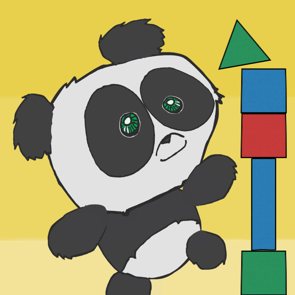 This Panda Needs You - Version 1 App Icon