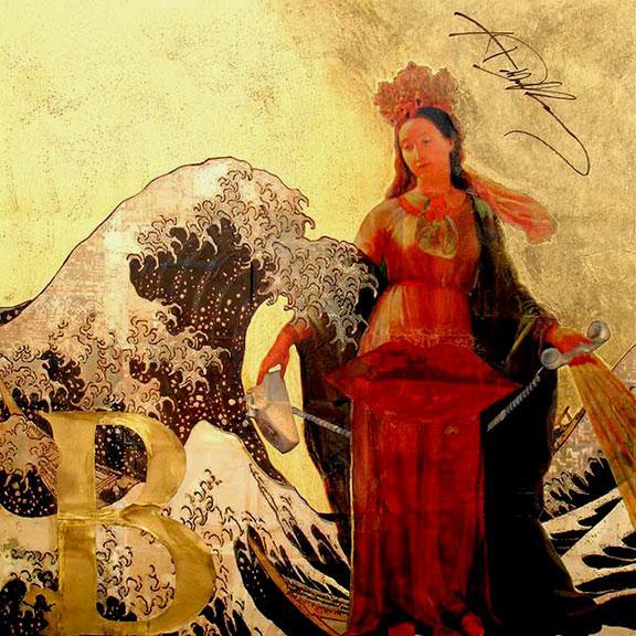 BLONDIE - Rock&Art Painting