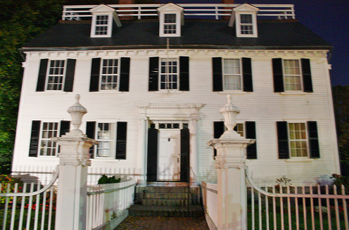 1780's Rope Mansion in Salem, MA