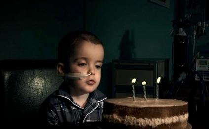 Hospital Birthday - quiet and sad