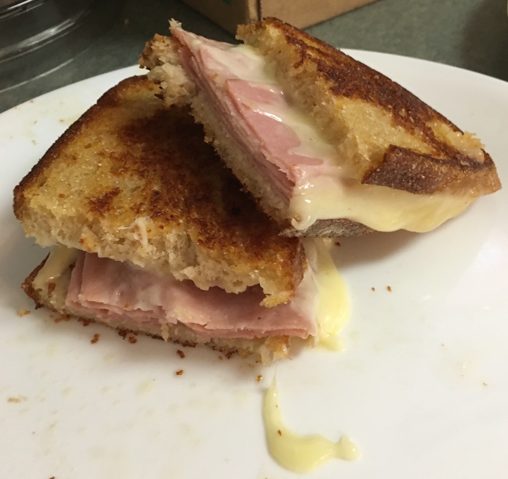 Mortadella Grilled Cheese