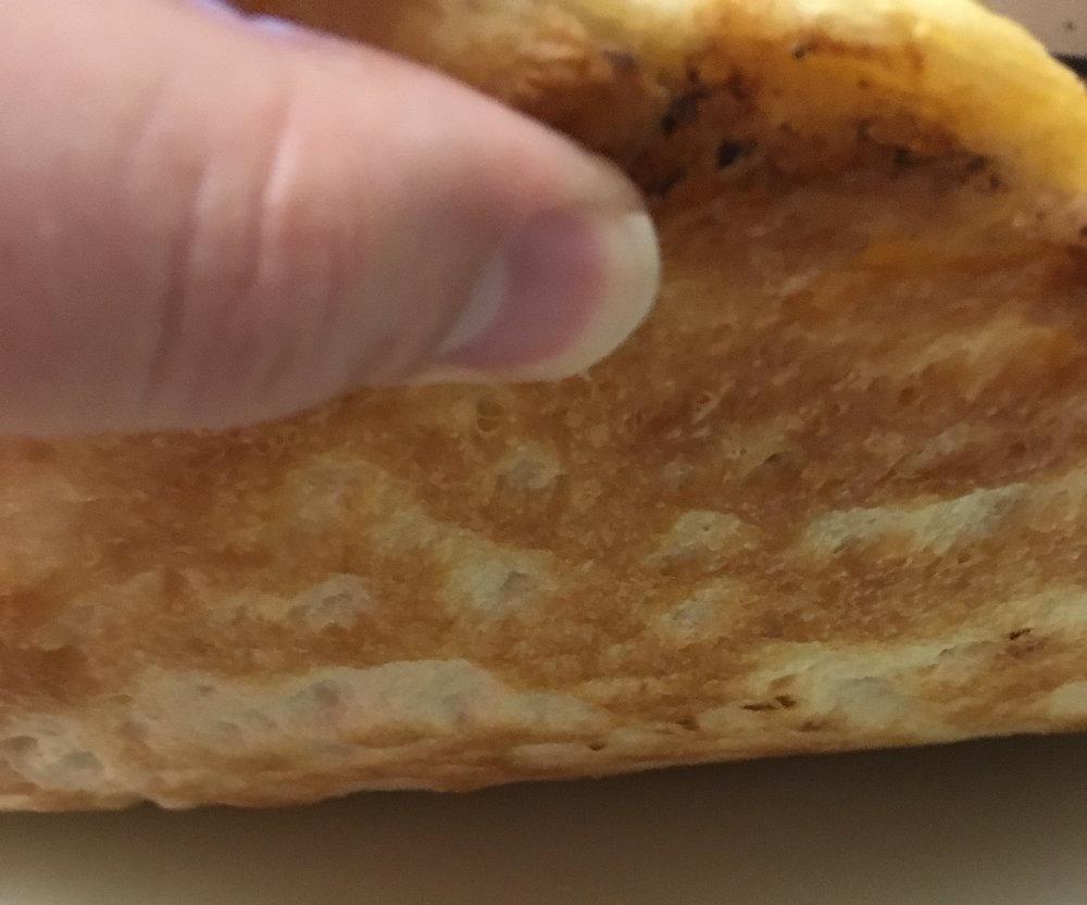 The crust, it is beautiful