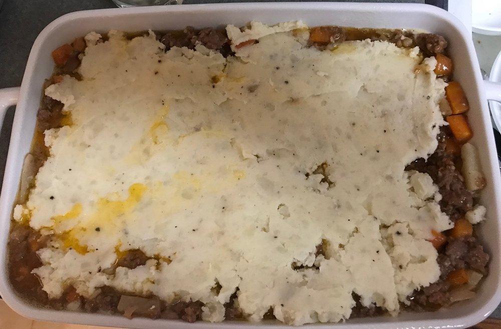 Mashed Potato Topping