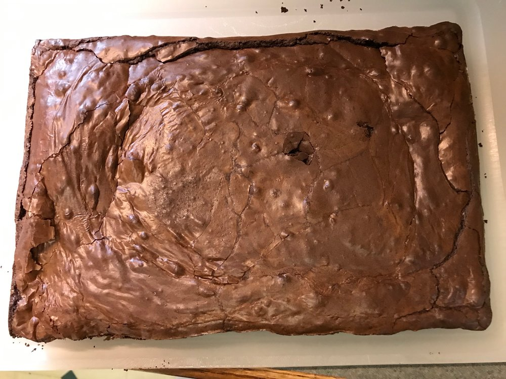 Glossy Fudge Brownies
