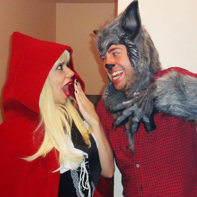 me and my big bad wolf
