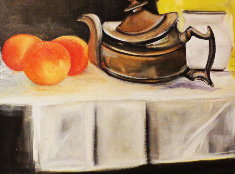 my still life in progress.