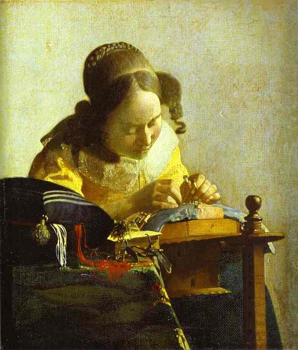 Jan Vermeer - The Lacemaker .JPG