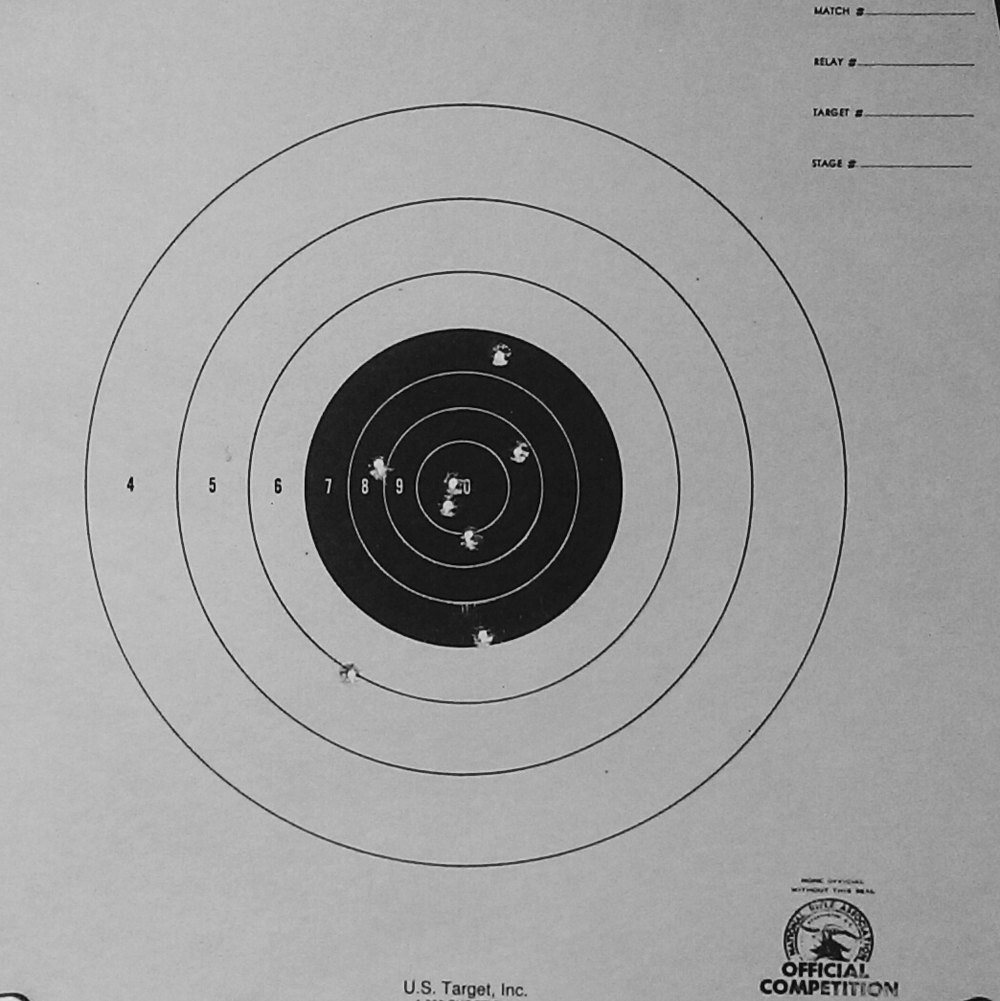 My boyfriend's target practice