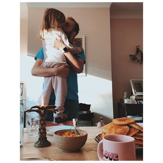 Happiest Father's Day to our gorgeous @konch, thank you for giving me these gorgeous golden nuggets and for teaching them to be sparkling beams of love and kindness... + Happy Father's Day to my lovely papa @nickfpeters, thank you for teaching us to love music and adventures, still my favourite things! Here's to lovely dads everywhere ♥️