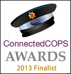 PHOTO:  ConnectedCOPS.net Finalist graphic.  (Photo Courtesy of  ConnectedCOPS.net )