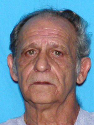 PHOTO:  A Silver Alert has been issued for Pasquqale Constanzo, W/M, DOB: 08-24-38 of 5113 SW 15 Place, Cape Coral, FL was last seen driving a red Kia Soul (FL tag N220FX).  his wife believes that he may be suffering from a mental ailment and has not been seen since 11:00 PM on 12-2-2013.  (Photo Courtesy of Cape Coral Police Department)