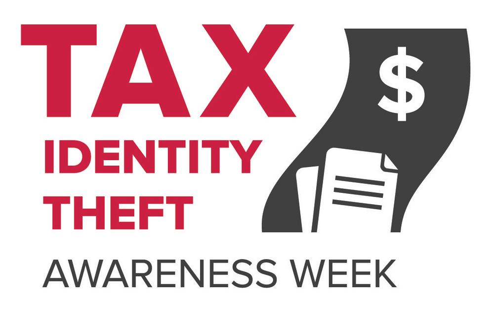 Tax Identity Theft Awareness Week runs from January 13-17, 2014. PHOTO:  Tax Identity Theft Awareness Week Logo.  (Photo Courtesy of  Federal Trade Commission )