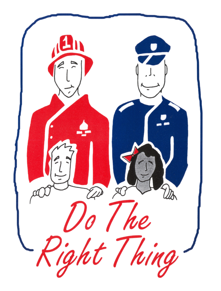 PHOTO:  Do the Right Thing logo.  (Photo Courtesy of Cape Coral Police Department)