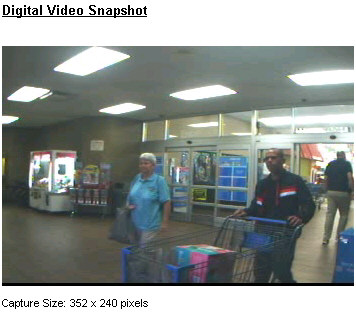PHOTO:  Video surveillance still of credit card fraud suspect.  (Photo Courtesy of Cape Coral Police Department)