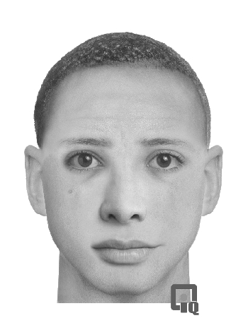 "PHOTO:  Composite sketch of armed robbery suspect.  Suspect is described as a light-skinned black male with a distinctive mole on his cheek, between 20-35 years of age, 5'10"" tall, short, shaved haircut, wearing dark pants and a black hooded sweatshirt.  (Photo Courtesy of Cape Coral Police Department)"