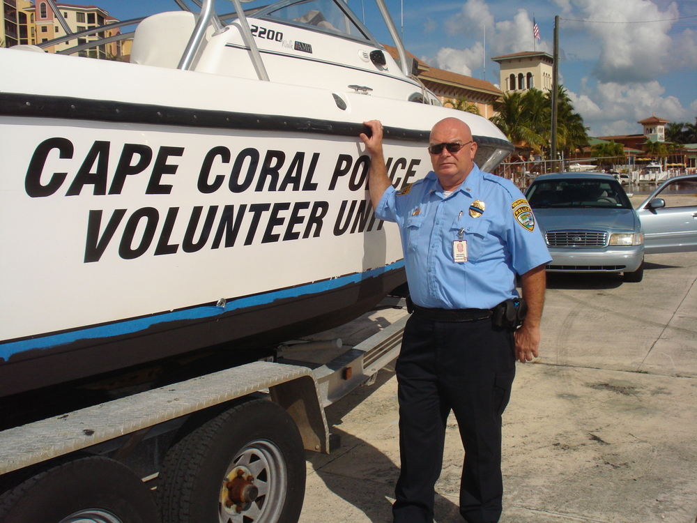 PHOTO:  The Cape Coral Police Department Police Volunteer Unit is seeking applicants.  (Photo Courtesy of Cape Coral Police Department)
