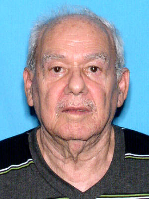 "MISSING PERSON:   Orestes Pradere, DOB 9-24-35, 78 years old, of Cape Coral.  He is   5'04"", 148 lbs, bald, last seen wearing a white t-shirt and blue jean shorts."