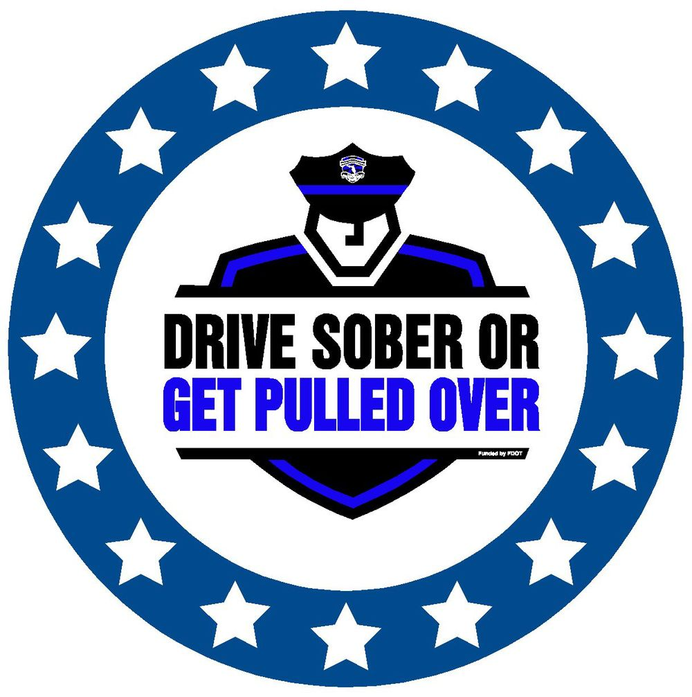 PHOTO:  Drive Sober or get Pulled Over Logo.  (Photo Courtesy of  Cape Coral Police Department )
