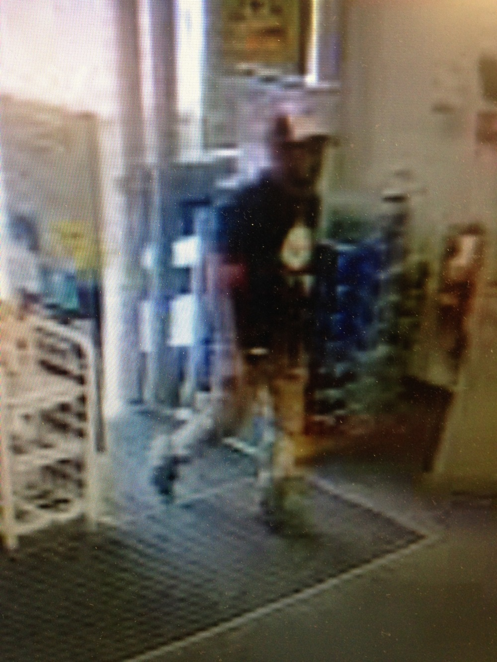 "PHOTO:  Strong-arm robbery suspect.   The suspect is described as a Hispanic male in his 30's, short stature (approximately 5'00"" tall), thin build, wearing a white baseball cap, khaki pants, and a black shirt with a print on the front.  The male also had a pierced lower lip .  (Photo Courtesy of Cape Coral Police Department)"