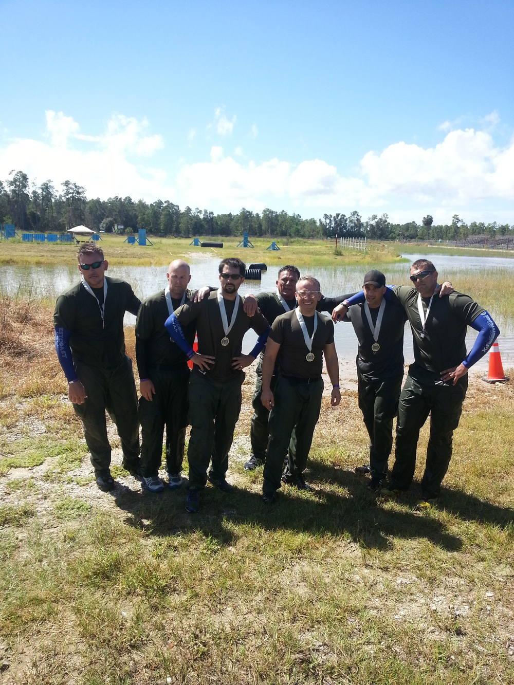 "This year, your team placed 2nd at the ""Region 6"" SWAT Competition. Special thanks to the competitors:  Officer Adam Masino, Detective Michael Toleman, Officer Juan Munoz-Hoys, Officer Jeremy Niland, Officer Stephen Scrobe, Officer Cristian Munoz-Luna, Officer John Montgomery, and our regional stand-out, Officer Jeffrey Livingston."
