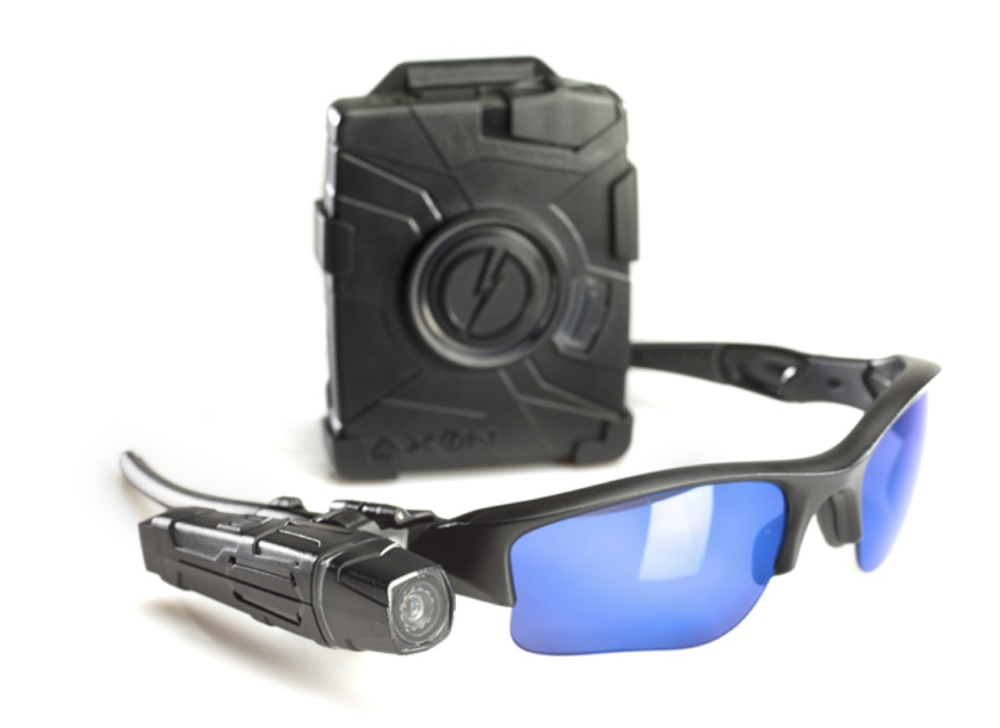 PHOTO:  Taser Axon Flex.  (Photo Courtesy of Taser)