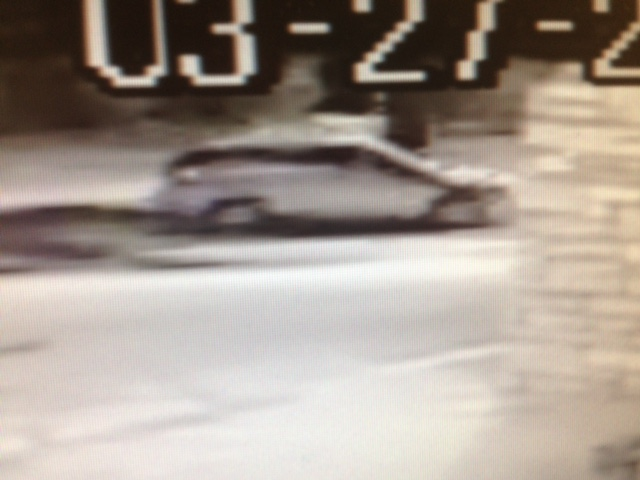 PHOTO:  surveillance camera still of the suspect vehicle.  (Photo Courtesy of Cape Coral Police Department)