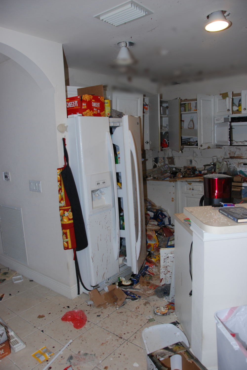 Explosive Damage in Kitchen 2