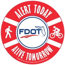 PHOTO:  FDOT Alert Today, Alive Tomorrow Logo.  (Photo Courtesy of FDOT)
