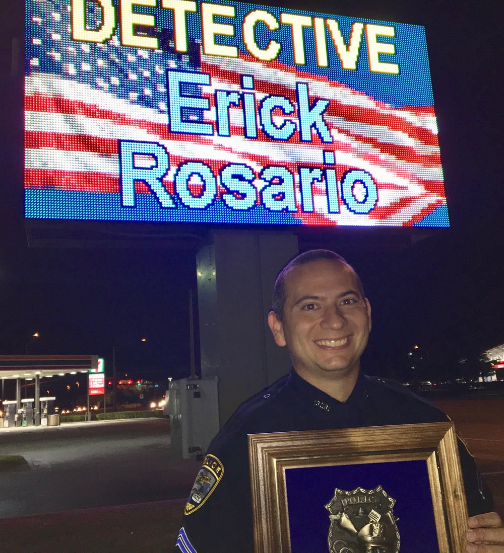 FOS Furniture Cape Coral Officer of the Year, Detective Erick Rosario