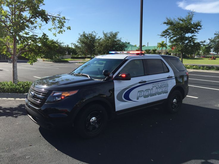 The Ford Explorer. (Photo Courtesy of Cape Coral Police Department)