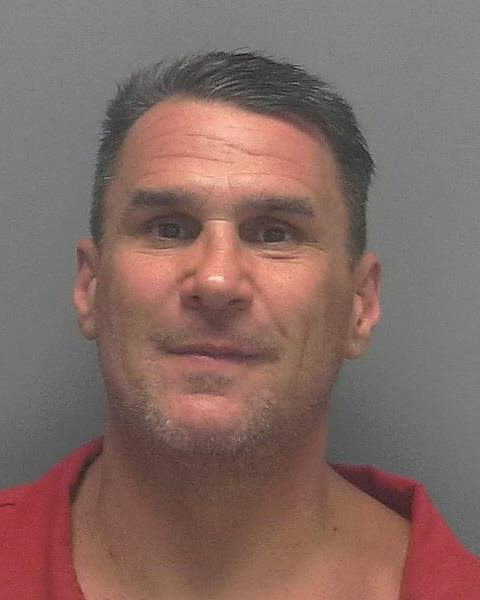 ARRESTED: Brian Charles Battaglia, W/M, DOB: 6-15-67, of 8701 Estero Blvd. #103, Fort Myers Beach, FL. - CHARGES: Scheming to Defraud