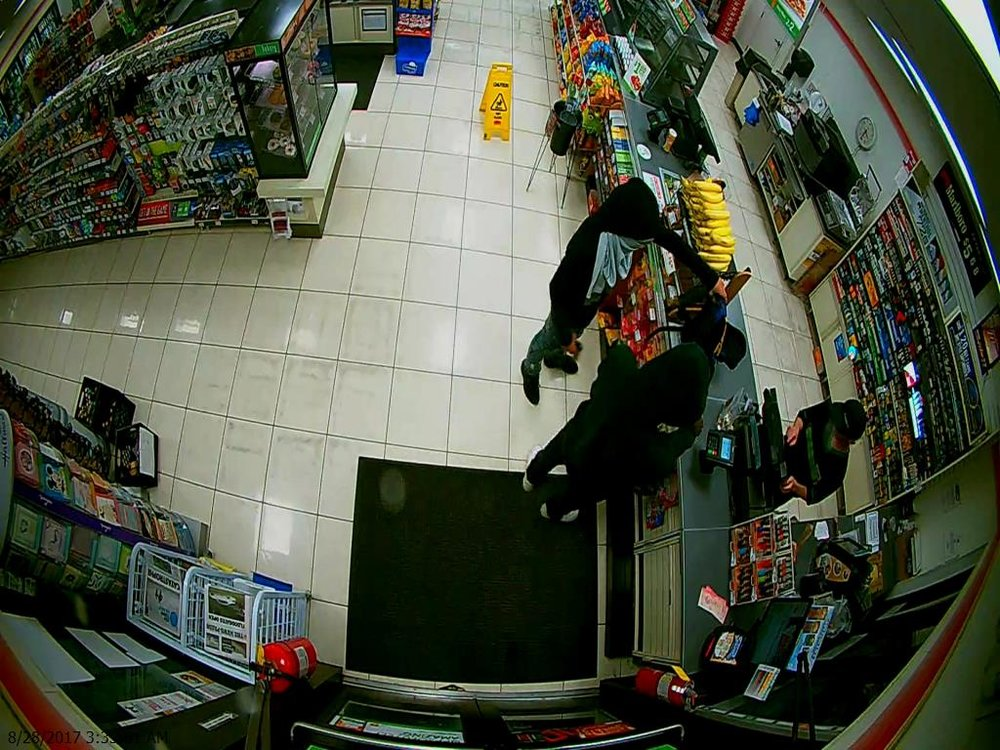 Surveillance photo from 7-11 convenience store cameras.