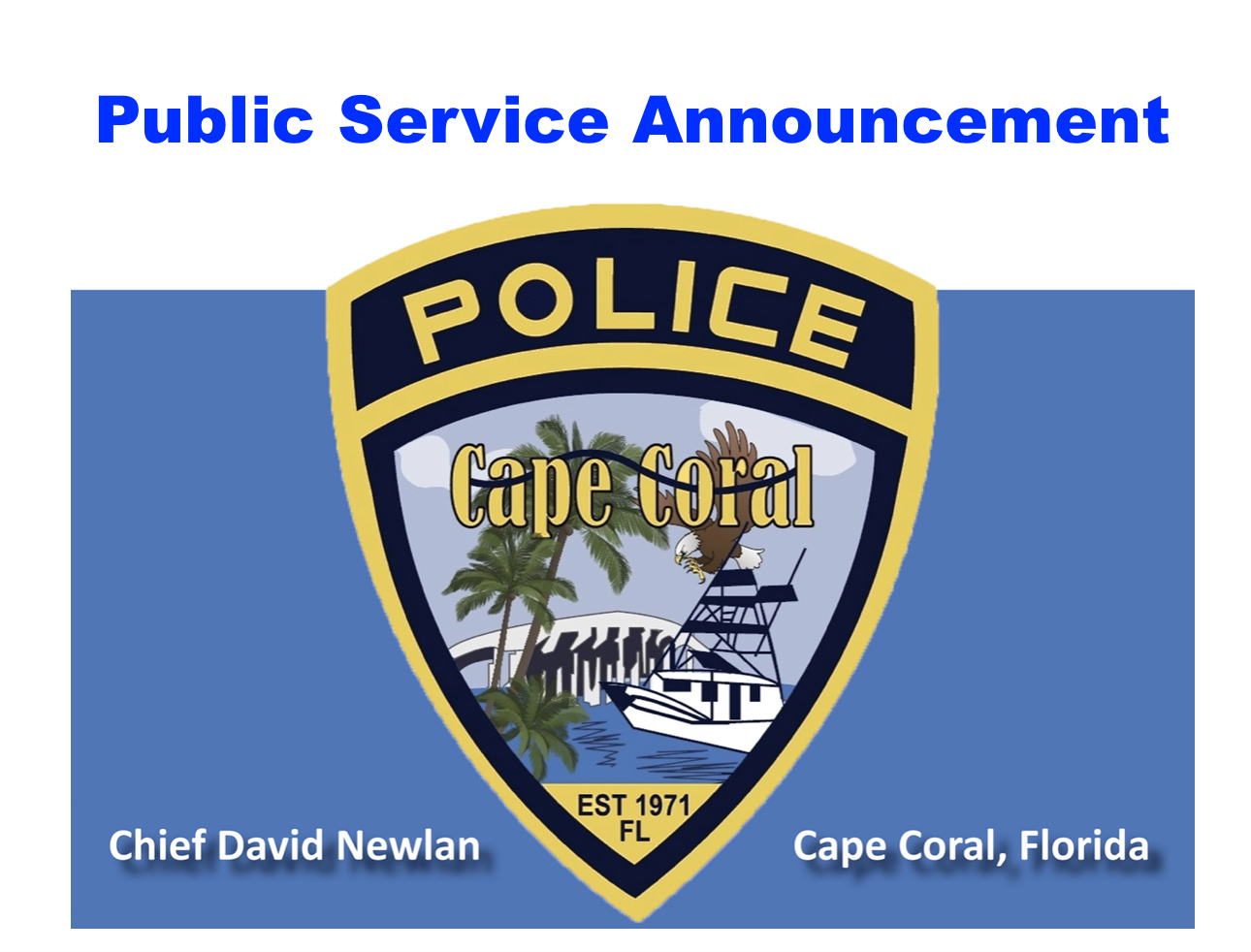 Don't Fall for the Scams! — Cape Coral Police Department
